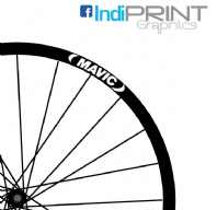Mavic Logo Rim Decal